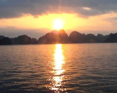 Ha Long Bay in a view