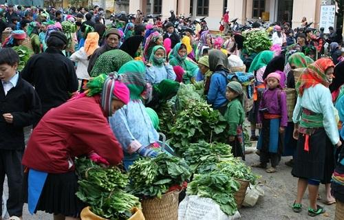 Dong Van unique Market in Ha Giang Province