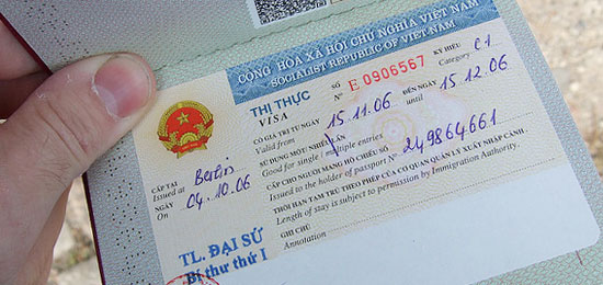 Procedure to get Vietnam visa