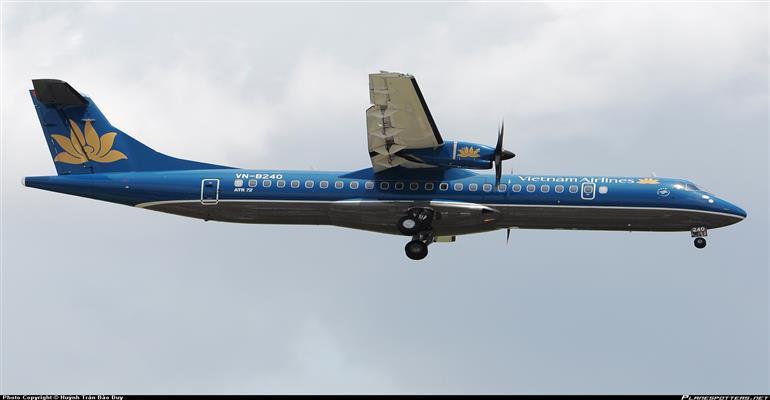 VN Airlines flights using ATR 72