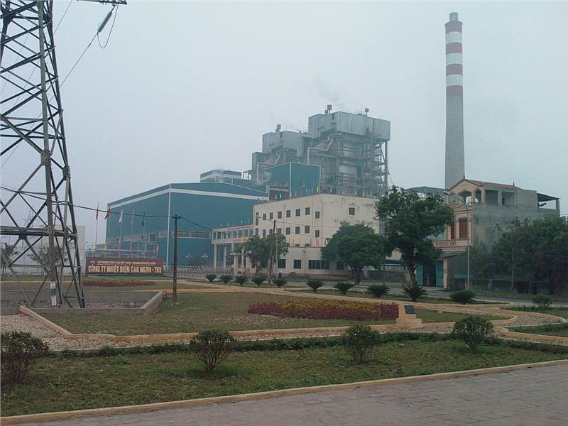 Cao Ngan power plant