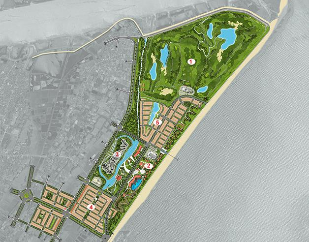 FLC Samson Golf Links to be the biggest golf course in Vietnam