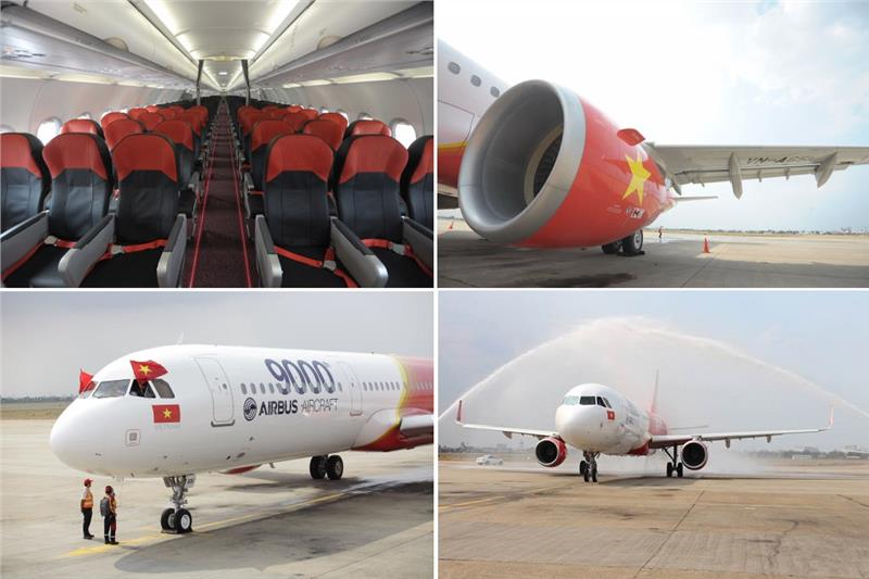 First A321 aircrafts of Vietjet