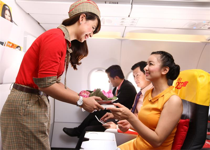 chất lượng dịch vụ của VietJet Air ban đầu