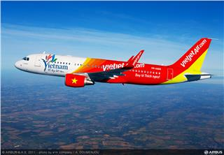 50% discount off Vietjet Air tickets to stimulate Central tourism