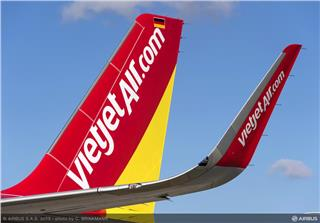 Viejet welcomes A321 CEO Sharklet to new home