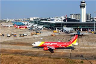 Vietjet Air tăng tần suất chặng bay Sài Gòn - Bangkok