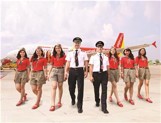 Buy Vietjet tickets Skyboss - Free opportunity to travel Europe