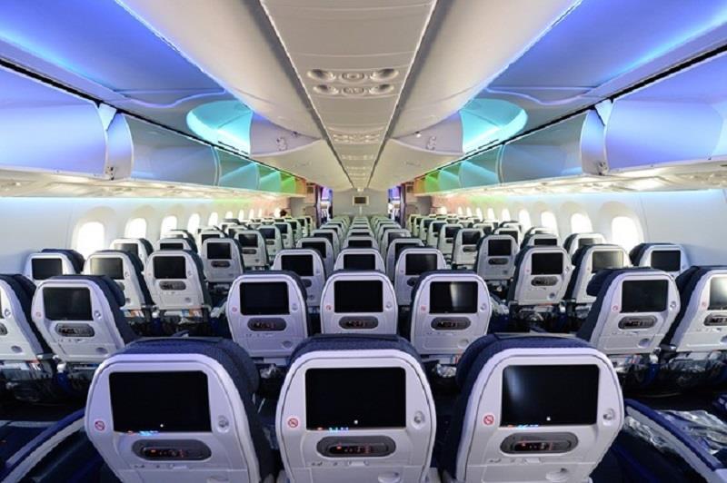Inside Boeing 787-9 Dreamliner of Vietnam Airlines