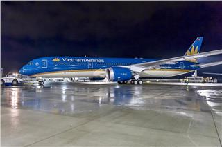 Vietnam Airlines Wi-Fi coverage test on Boeing 787-9