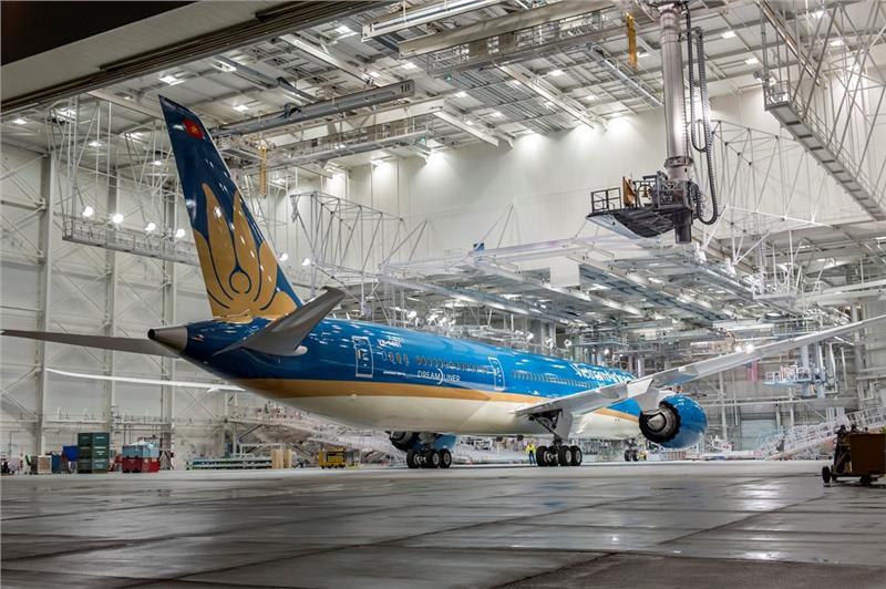 Vietnam Airlines Boeing 787-9 Dreamliners in US