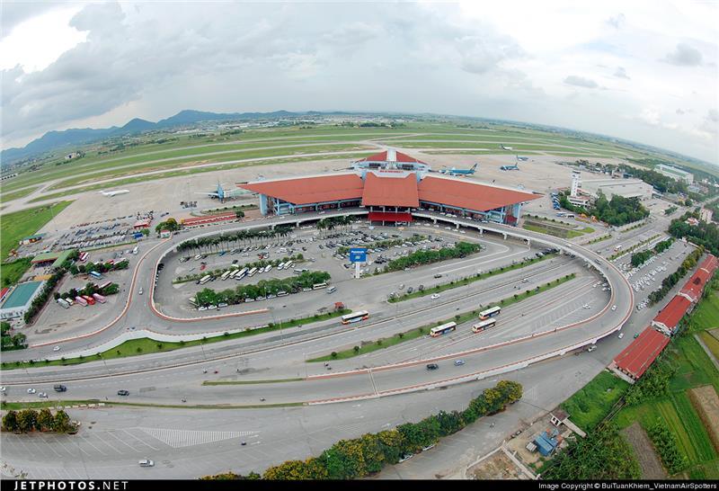 Noi Bai International Airport in Hanoi