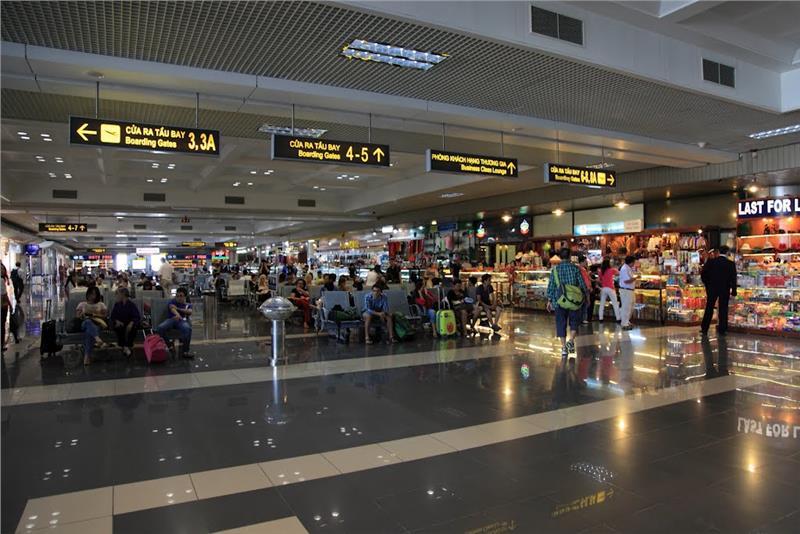 Nhà ga tại Sân bay Nội Bài