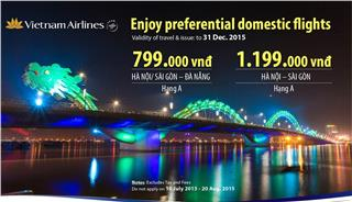 Vietnam Airlines domestic promotion