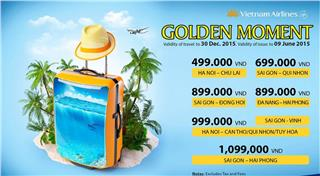 Vietnam Airlines cheap tickets - Golden Moment 4