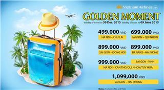 Vietnam Airlines cheap tickets - Golden Moment 4