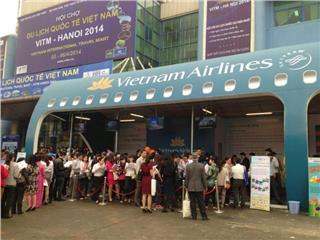 Vietnam Airlines organized seminar in VITM Hanoi 2015