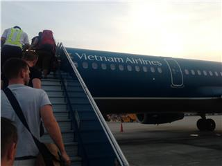 Vietnam Airlines advices for the elderly on the plane