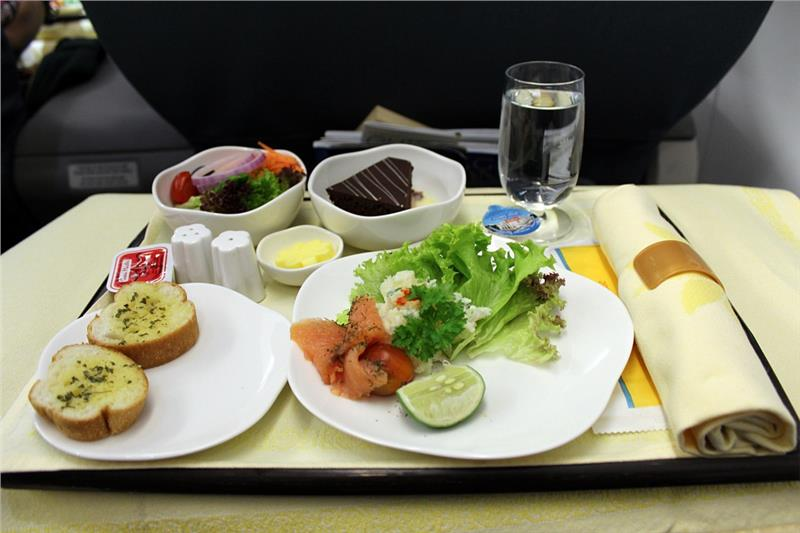 starter meal on vietnam airlines