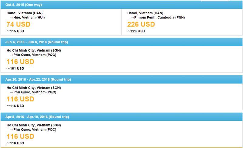 Vietnam Airlines cheap tickets