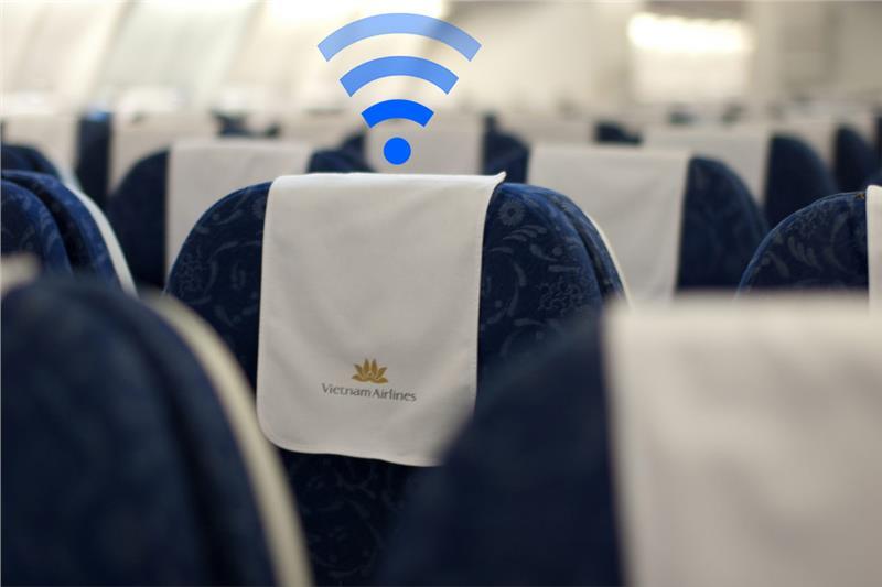 Máy bay của Vietnam Airlines sẽ được phủ sóng Wi-Fi từ Tháng 5