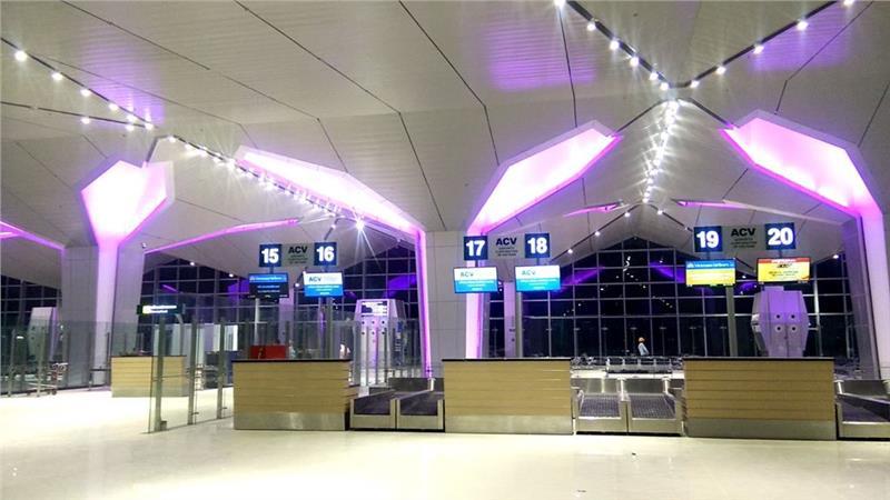 New terminal at Vinh Airport