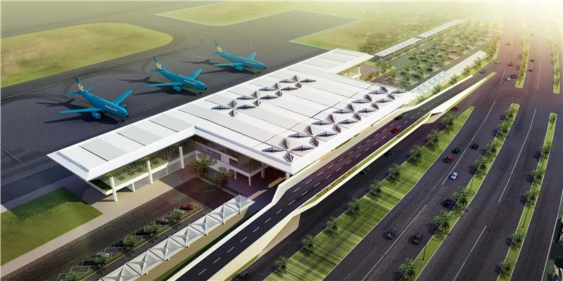 Vinh Airport becomes international airport