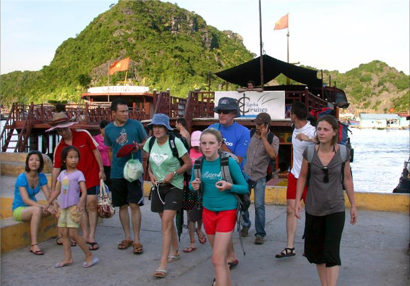Russian tourists arrivals to Vietnam