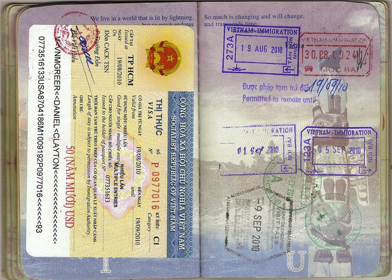 Vietnam visa exemption for foreigners