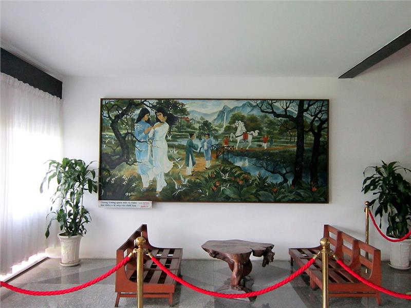 A Vietnam Fine Arts work on Tale of Kieu