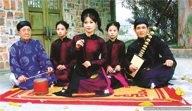 Artists of Ca Tru Vietnam