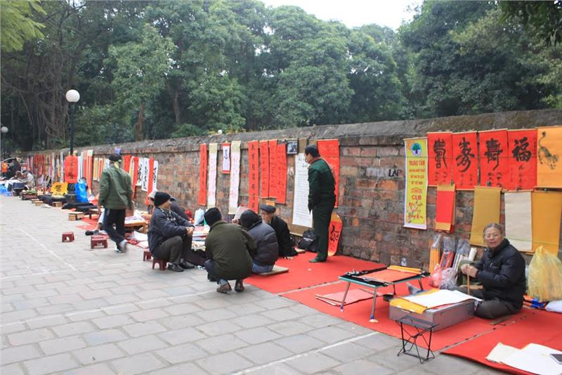 Calligraphy Street - Temple of Literature