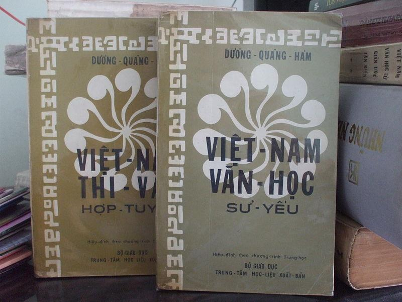Works on history of Vietnam literature by Duong Quang Ham