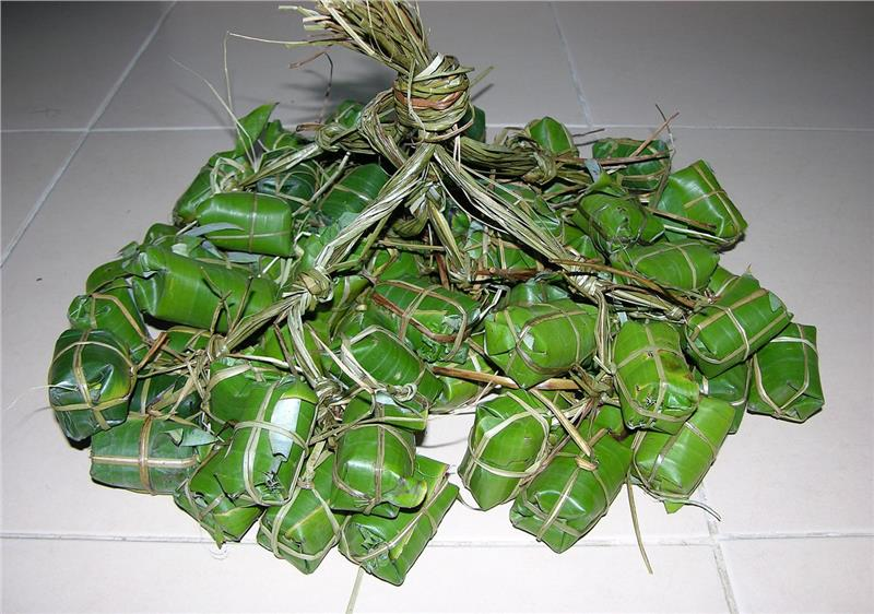 A string of Nem chua