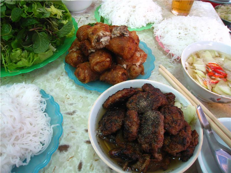 Bun Cha - one of world's best street foods