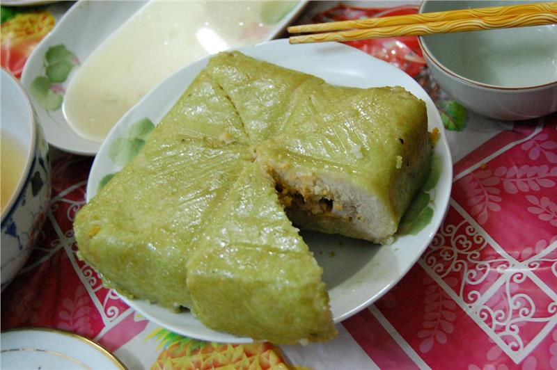 How to Make Chung Cake for TET