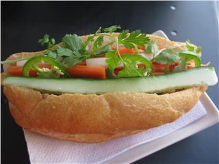 Taste of Banh Mi in Vietnam cuisine