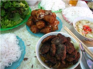 Bun Cha - one of world's best street foods