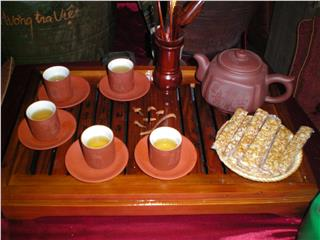 Why Vietnamese tea is an art?