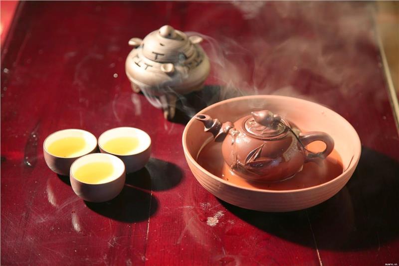 Vietnamese tea style