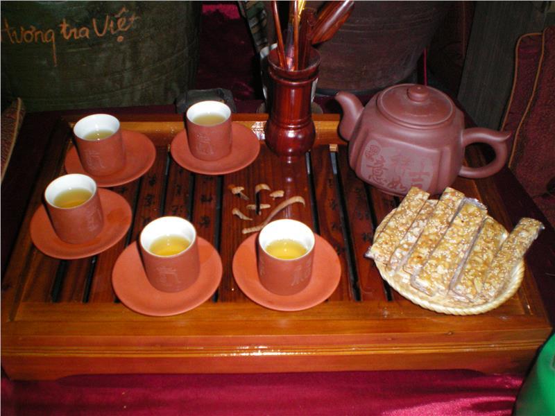 Why Vietnamese tea is an art?
