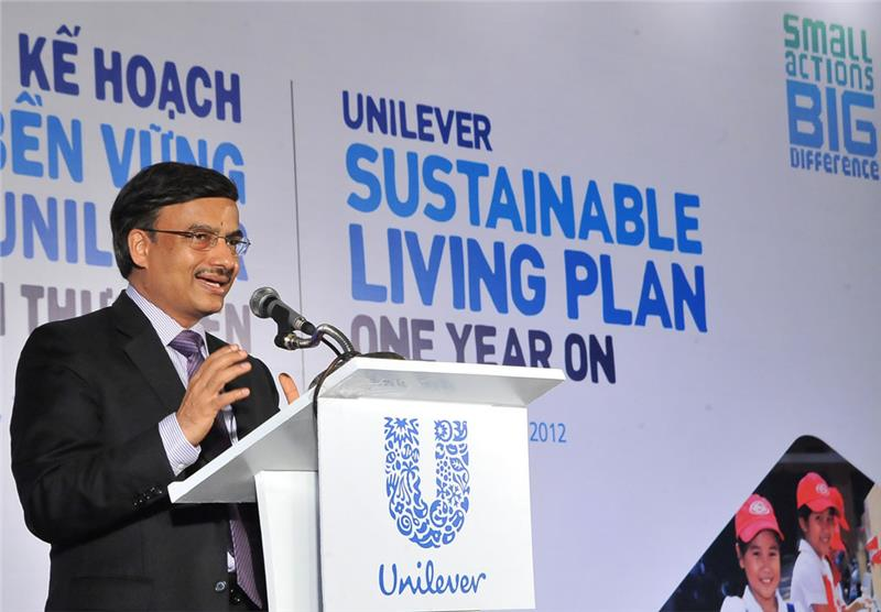 An anual ceremoney of Unilever Vietnam