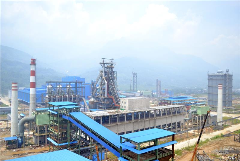 An Industrial zone in Lao Cai