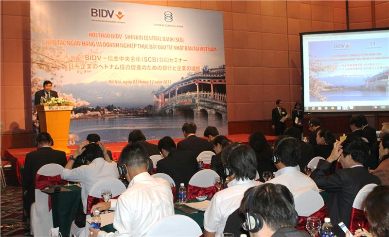 BIDV - Shinkin Central Bank Workshop to promote Japanese investment in Vietnam