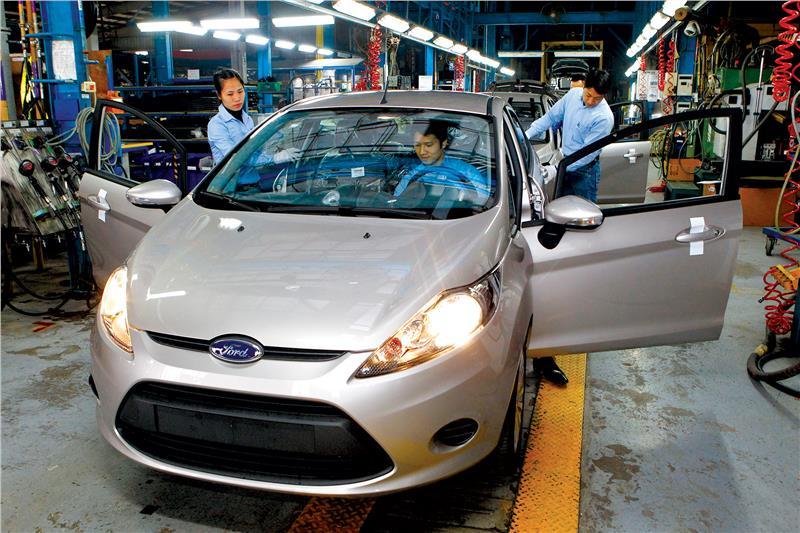 Car manufacture in Vietnam