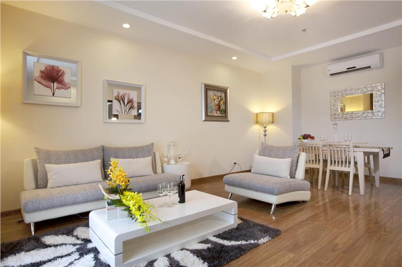 Comfortable living room in Times City house
