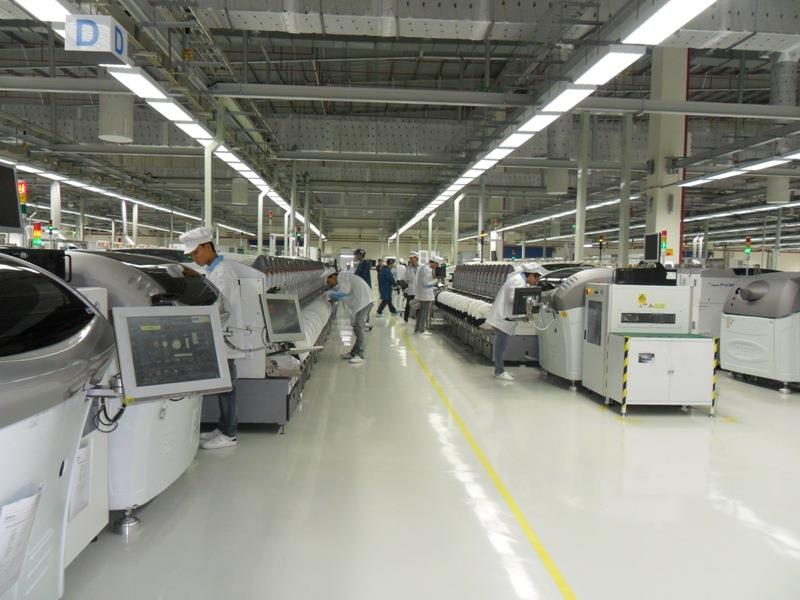 Inside Nokia factory in Vietnam