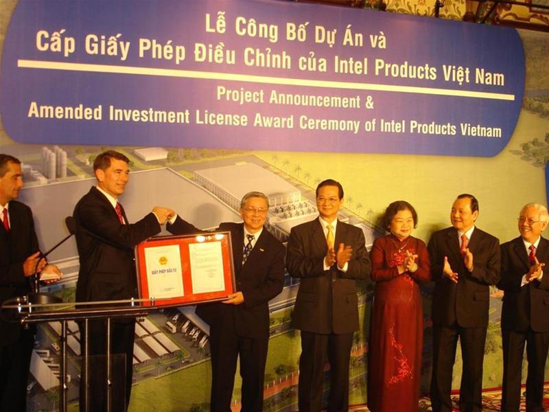 Intel raises more capital in Vietnam