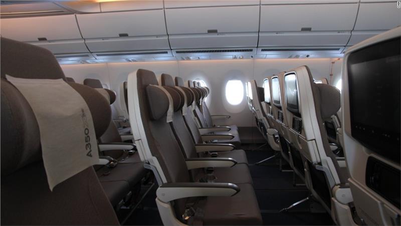 Interior Airbus A350 XWB