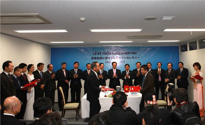 Japan - Vietnam cooperation ceremony